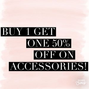 Jewelry - Buy one get one 50% off